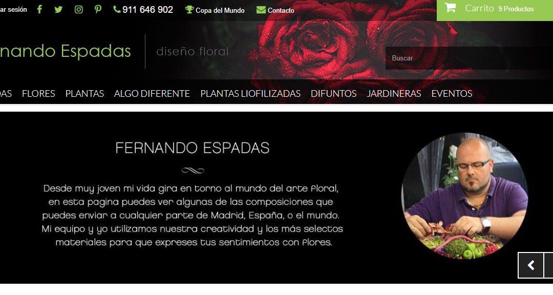 Fernando Espadas, floristería en Alcorcón