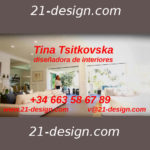 Diseño de interiores, Tina Tsitkovska