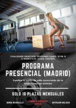 Entrenador personal en Madrid, planes nutricionales y entrenamiento online en Madrid España