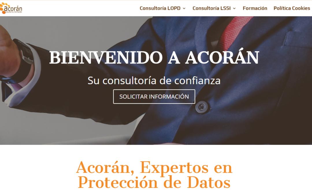 Acorán. Empresa de Protección de Datos